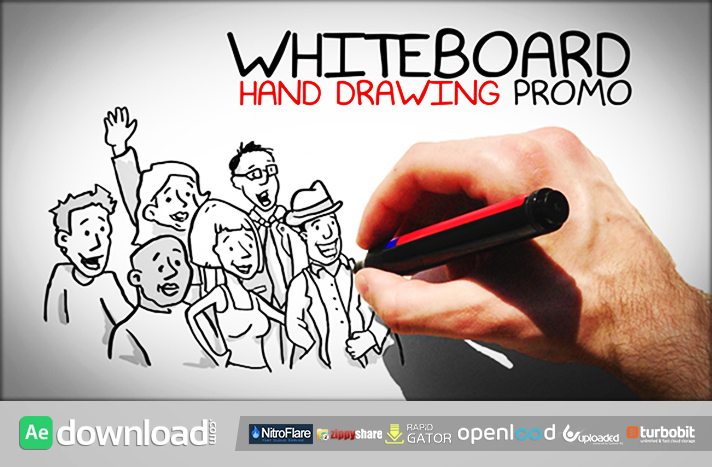 Whiteboard Hand Drawing Promo (videohive)