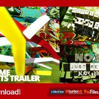 XTREME SPORTS GRAFFITI TRAILER (VIDEOHIVE PROJECT) FREE DOWNLOAD