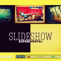 EXPERIMENTAL 3D PHOTO SLIDESHOW VIDEOHIVE FREE TEMPLATE