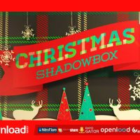 CHRISTMAS SHADOWBOX DISPLAY FREE DOWNLOAD – VIDEOHIVE PROJECT