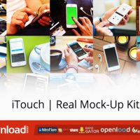 ITOUCH REAL MOCK-UP KIT – FREE VIDEOHIVE TEMPLATE