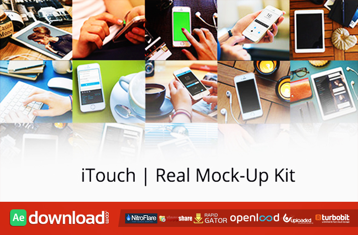 iTouch Real Mock-Up Kit