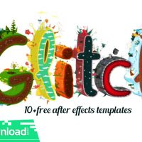 10+ GLITCH LOGO REVEALS FREE AFTER EFFECTS TEMPLATES