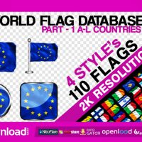 2K WORLD FLAG DATABASE PART-1 – VIDEOHIVE FREE DOWNLOAD