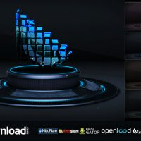 3D LOGO ON STAGE – AFTER EFFECTS PROJECT (VIDEOHIVE)