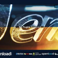 3D METALLIC REVEAL -FREE  AFTER EFFECTS PROJECT (VIDEOHIVE)