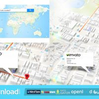 3D MAP GENERATOR – FREE AFTER EFFECTS PROJECT (VIDEOHIVE)
