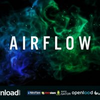 AIRFLOW – PARTICLE LOGO REVEAL – AFTER EFFECTS PROJECT (ROCKETSTOCK)