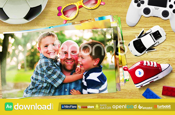 ALL IN ONE SLIDESHOW FREE DOWNLOAD POND5 TEMPLATE