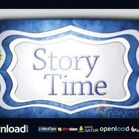 STORY TIME BOOK – AFTER EFFECTS TEMPLATE (FLUXVFX)