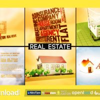 AGENCY – REAL ESTATE PROMO – AFTER EFFECTS PROJECT (VIDEOHIVE)