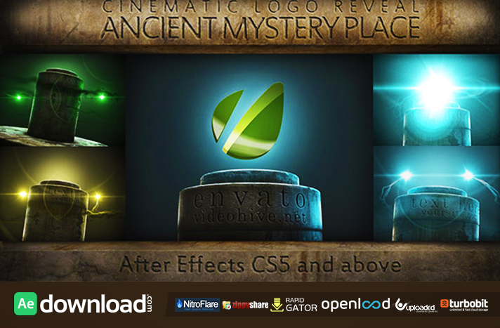 Ancient Mystery Place - Cinematic Logo Reveal