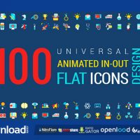 ANIMATED FLAT ICONS AND CONCEPTS PACK – VIDEOHIVE FREE TEMPLATE