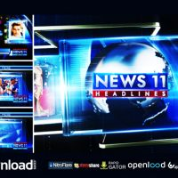 BROADCAST DESIGN NEWS PACKAGE 03 – AFTER EFFECTS PROJECT (VIDEOHIVE)