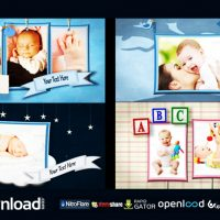 BABY SHADOWBOX SHOW – FREE AFTER EFFECTS PROJECT (VIDEOHIVE)