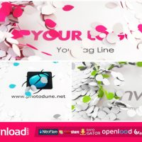 BRIGHT LOGO REVEAL – FREE AFTER EFFECTS PROJECT (VIDEOHIVE)