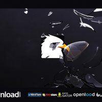BROKEN LOGO OPENER FREE DOWNLOAD AFTER EFFECTS PROJECT (VIDEOHIVE)