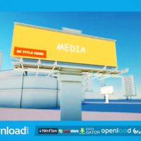BUILDINGS AND BILLBOARDS – AFTER EFFECTS TEMPLATE (VIDEOBLOCKS)
