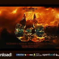 BURN DESTROY – FREE AFTER EFFECTS PROJECT (VIDEOHIVE)