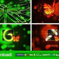 BUTTERFLY LOGO REVEAL 7129296 – AFTER EFFECTS PROJECT (VIDEOHIVE)