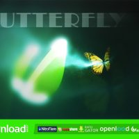 BUTTERFLY LOGO REVEAL FREE DOWNLOAD AFTER EFFECTS PROJECT (VIDEOHIVE)