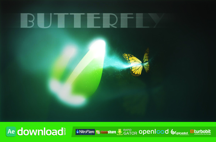 Butterfly Logo Reveal