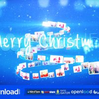 CHRISTMAS FOTO TREE – AFTER EFFECTS TEMPLATE (POND5)