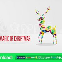 CHRISTMAS GREETINGS – FREE AFTER EFFECTS TEMPLATE (POND5)
