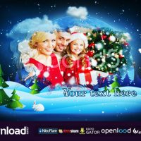 CHRISTMAS SLIDESHOW – AFTER EFFECTS TEMPLATE (POND5)