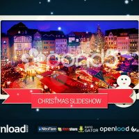 CHRISTMAS SLIDESHOW FREE DOWNLOAD TEMPLATE (POND5)