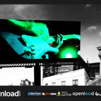 CITY BILLBOARD (FLUXVFX) TEMPLATE – FREE AFTER EFFECTS PROJECT