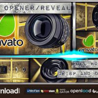 CAMERA LENS REVEAL OPENER – AFTER EFFECTS PROJECT (VIDEOHIVE)