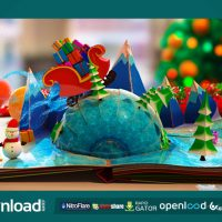 CHRISTMAS POP-UP BOOK – AFTER EFFECTS PROJECT (VIDEOHIVE)