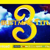 CHRISTMAS TITLES 3 – FREE AFTER EFFECTS PROJECT (VIDEOHIVE)