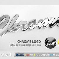CHROME LOGO – AFTER EFFECTS PROJECT (VIDEOHIVE)