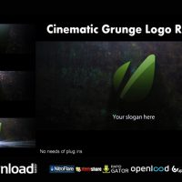 CINEMATIC GRUNGE LOGO REVEAL FREE DOWNLOAD VIDEOHIVE TEMPLATE