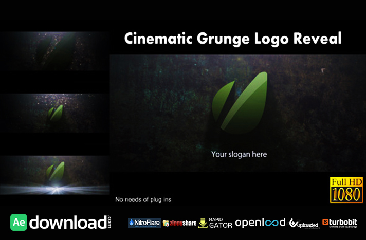 Cinematic Grunge Logo Reveal