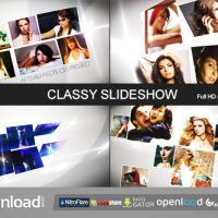 CLASSY SLIDESHOW – FREE AFTER EFFECTS PROJECT (VIDEOHIVE)