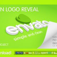 CLEAN LOGO REVEAL FREE DOWNLOAD VIDEOHIVE PROJECT