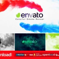 COLORFUL SMOKE REVEAL FREE DOWNLOAD VIDEOHIVE TEMPLATE