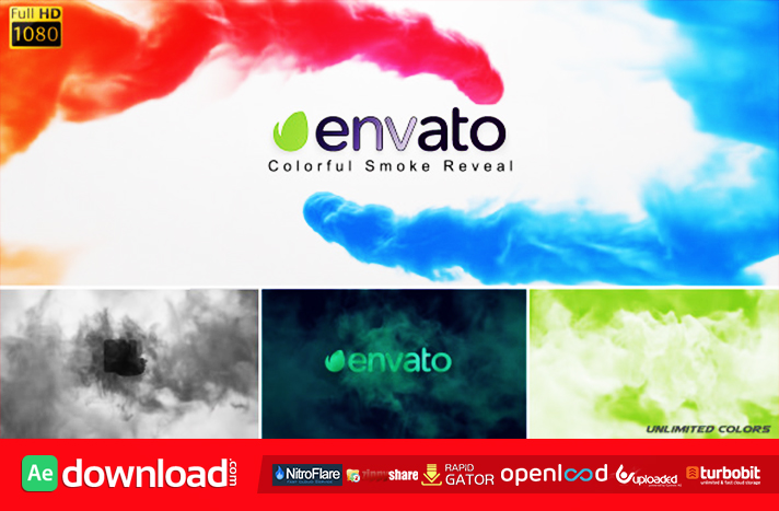 COLORFUL SMOKE REVEAL FREE DOWNLOAD VIDEOHIVE TEMPLATE - Free After