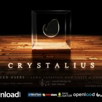 CRYSTALIUS – CUBE LOGO – FREE AFTER EFFECTS PROJECT (VIDEOHIVE)