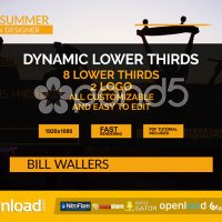 DYNAMIC LOWER THIRDS – AFTER EFFECTS TEMPLATES (POND5)