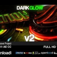 DARK GLOW LOGO REVEAL V2 – FREE DOWNLOAD AFTER EFFECTS PROJECT (VIDEOHIVE)