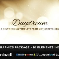 DAYDREAM WEDDING (VIDEOHIVE) TEMPLATE – FREE AFTER EFFECTS PROJECT