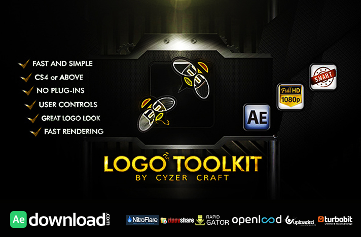 Descriptive Logo Toolkit - Hi-tech Packshot