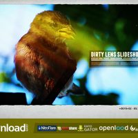 DIRTY LENS SLIDESHOW – FREE AFTER EFFECTS PROJECT (VIDEOHIVE)