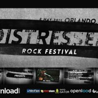 DISTRESSED ROCK FESTIVAL (VIDEOHIVE) TEMPLATE – FREE AFTER EFFECTS PROJECT
