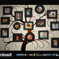 FAMILY TREE PHOTO ALBUM – FREE AFTER EFFECTS PROJECT (VIDEOHIVE)