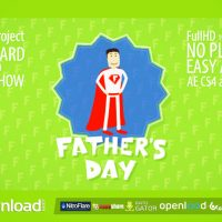 FATHER'S DAY SLIDESHOW – FREE AFTER EFFECTS PROJECT (VIDEOHIVE)